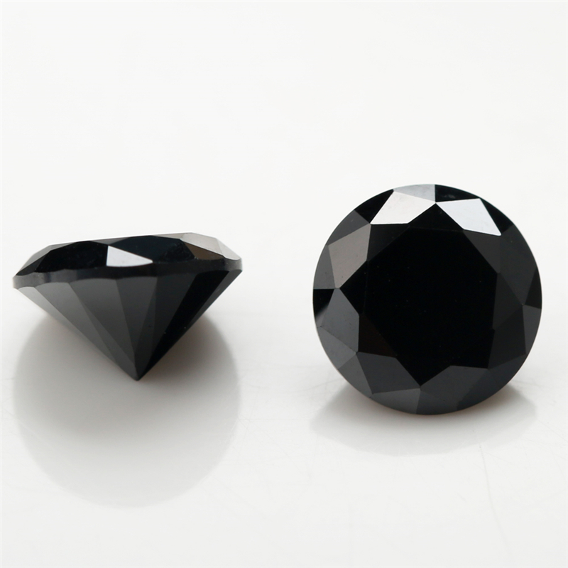 4mm~16mm Round-Black-Cubic-Zirconia-5 (3)