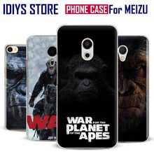 For MEIZU Meilan M3 M3S M3e M5 M3Note M5Note MX6 M3X U20 PRO5 PRO6 PRO6S War for the Planet of the Apes Movie Phone Case Cover