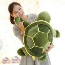 Huge Size 40cm/50cm/60cm Plush Tortoise Toy Cute Turtle Plush Pillow Stuffed Turtle Pillow Cushion For Girls Gift Kids Toys(China)