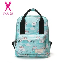 YANXI 2017 New Hot Sale School Bags For Teenagers Pop Quiz Backpack Male And Female Generic High Quality Canvas Women's Backpack