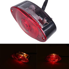 Motocross Lighting Motorcycle Tail Brake Running Rear Light Auxiliary Motorcycle Lights For Kawasaki ZZR1200 1400 GTR Taillight