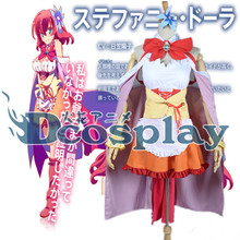 Customized Fashion Anime No Game No Life Cosplay Clothes Stephanie Dora Cosplay Costume Set