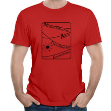 Never Trust an Atom They Make Up Everything tee shirt short sleeve men printing college fashion(China)
