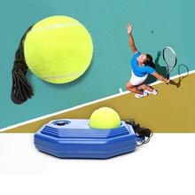 Tennis Ball Trainer Tennis Racket Training Practice Balls Back Base Trainer Tool String Elastic Rope Exercise raquetas de tenis(China)
