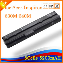 Replacement Laptop Battery for Acer 630M 640M XPS M140 E1405 312-0373 UG679 312-0450 DH074 451-10351 5200mAh 6 Cells(China)