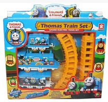 Manufacturers selling Thomas cartoon electric train toy train rail train toy for children