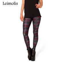 Buy Leimolis 3D printed fitness push workout leggings women gothic Galaxian game plus size High Waist punk rock pants for $6.90 in AliExpress store