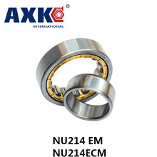 2017 Real Ball Bearing Rolamento Axk Gcr15 Nu214 Em Or Nu214ecm (70x125x24mm)brass Cage Cylindrical Roller Bearings Abec-1,p0(China)