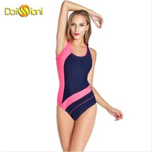 2017 Women Professional Sport Competitive Swimsuits One Piece Swimwear Girls Bathing Suit Brazilian Swimming Suits S to XXL Size