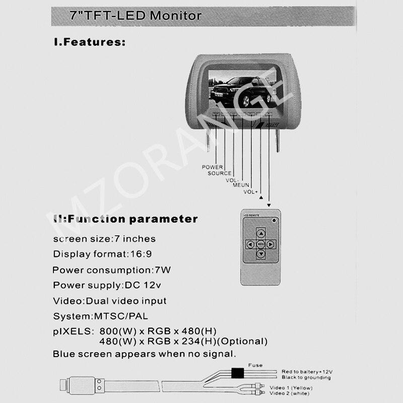 Headrest monitor 14