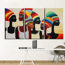 MUYA decorative wall painting african woman painting modern paintings abstract oil painting canvas pictures for living room