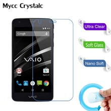 Nano Explosion-proof Soft Glass Protective Film Screen Protector Film for Sony Va-10j Vaio Phone Film(China)