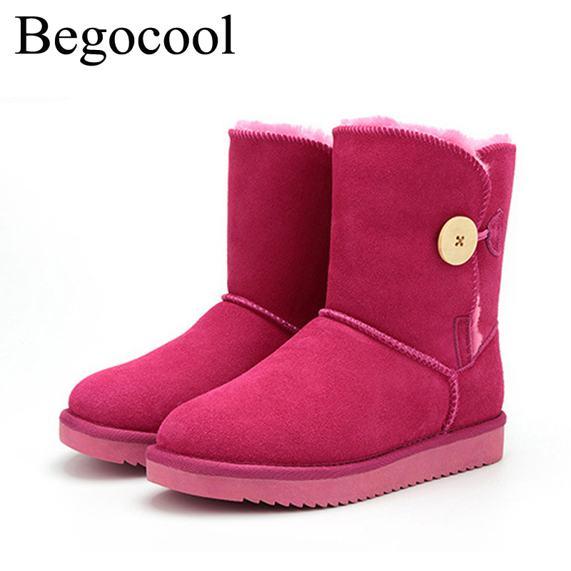 Begocool shoes ugs women winter snow boots for cheap botas mujer bottes femme chaussure BGC5803-002P free shipping<br>