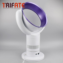 Purple Blue Silver Table/Floor Electric Bladeless Fan With Remote Control  220V No blade Fan