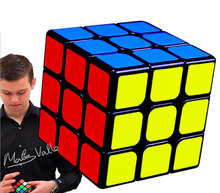 QIYI Colorful 3x3x3 Three Layers Magic Cube Profissional Competition Speed Cubo smooth sticker Puzzle Magic Cube Cool Toy Boy(China)