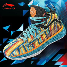 Li-Ning Outdoor Basketball Shoes Men Bounse Techonology Tuff  Lace-Up Damping Wade Sneakers Sport  Shoes  ABFK011