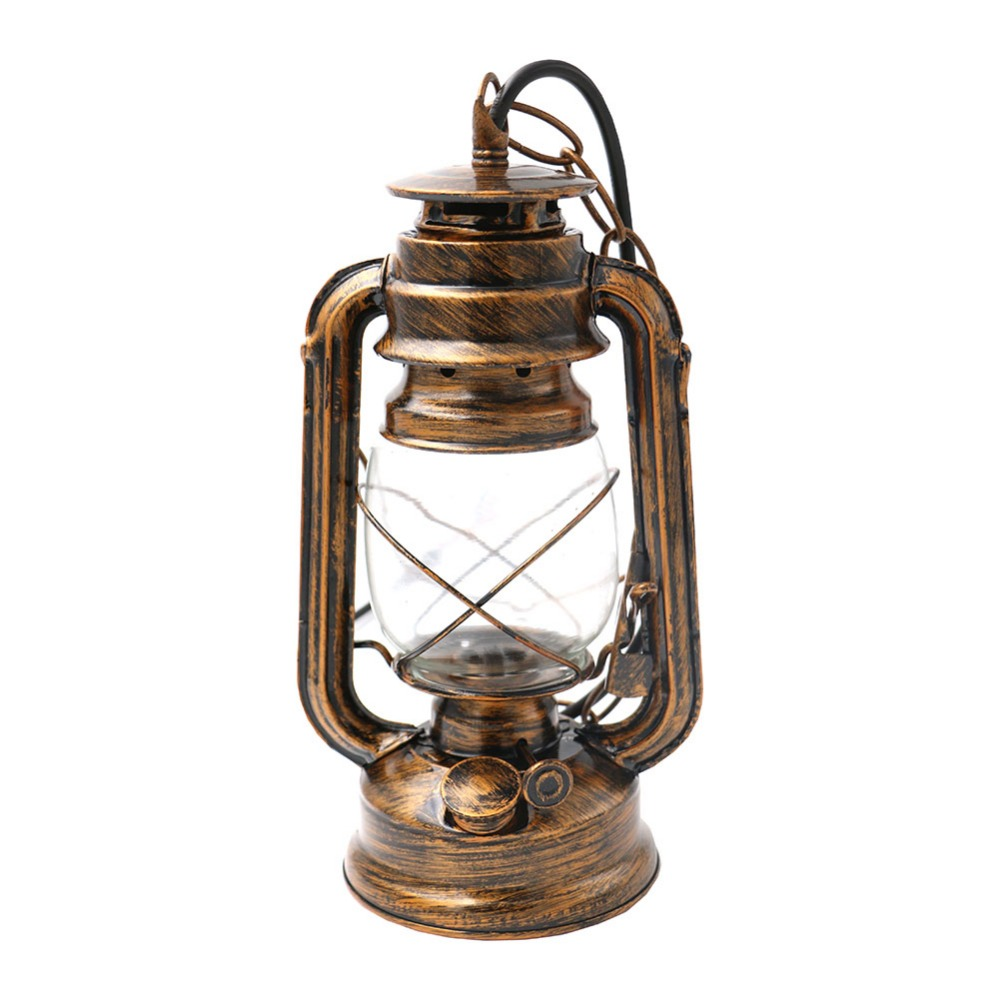 sanyi countryside retro brief vintage nostalgi lantern kerosene pendant lights lamp E27 lamp base antique Cinnamon color<br>