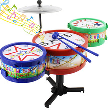 Mini Baby Infant Jazz Drum Rock Set Toy Musical Instrument Educational Toy Kids Early Learning Musical Drum Toy