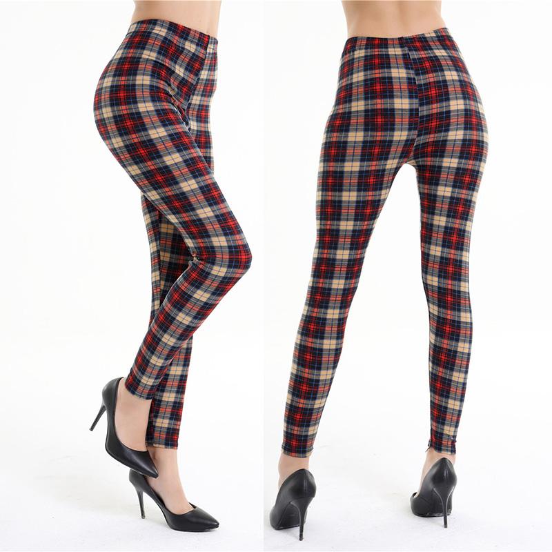 Dasbayla 17 Women Print Fashion Leggings Low Waist Thin stretch Ankle Skinny Pants Sexy Slim Ladies leggings Female 02 16