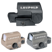 NEW holographic LEUPOLD LCO Red Dot Sight 1 MOA Dot Rifle Scope Marked Version Black/Dark Earth/Gray