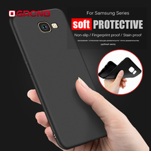 Soft Silicon Matte TPU Case For Samsung Galaxy S8 S8 Plus S6 S7 Edge Cover Case For Samsung J3 J5 J7 A3 A5 A7 2016 2017 Cases(China)