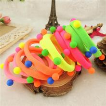 isnice 20Pcs Hot Sale New 2018 Hair Accessories Pearl Rubber bands Headwear For Women Elastic Hair bands