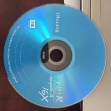 Wholesale 10 discs Grade A 4.7 GB 16x Blue Blank Printed DVD+R Disc(China)