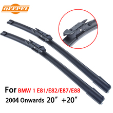 QEEPEI For BMW 1 E81/E82/E87/E88 2004-Present 20''+20'' Wipers Blade Accessories For Auto Rubber Windshield Wiper,CPB101