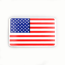 Metal American US Flag Car sticker logo Emblem Badge Styling stickers Jeep Bmw Fiat VW Ford Audi Honda Toyota Lad - XiCL Autoparts Store store