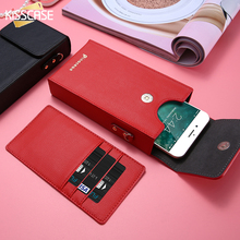 KISSCASE Crossbody Wallet Bag Leather Case For iPhone 6 6S Plus 7 7S Plus 5S SE iPhone 8 For Samsung Galaxy S6 Edge S7 S8 Xiaomi