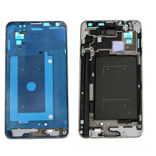 Silver Front Bezel Frame For Samsung Galaxy Note 3 N9005 Bezel Middle Frame Housing cover Parts, Free shipping !!!