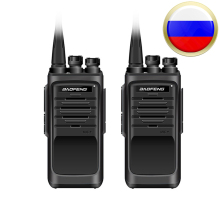 New Baofeng BF-888S Professional Walkie Talkie BF 888S 5th 5W Power UHF 400-480MHz Portable Two Way Radio PTT 2pcs Russia