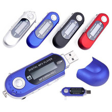Cheapest Mp3 Player USB 32G TF card Slot supported USB Flash MP3 U Disk Player With FM Radio Fm Modulator @tw