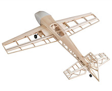 RC Plane Laser Cut Balsa Wood Airplane Extra330  Frame without Cover Wingspan 1025mm Balsa Wood Model Building Kit
