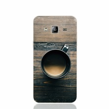 23675 Coffee Cup On Wooden Table cover phone case for Samsung Galaxy J1 J2 J3 J5 J7 MINI ACE 2016 2015 ON5 ON7