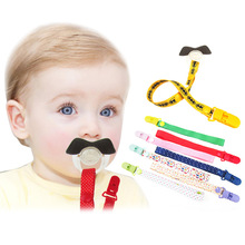 Mambobaby Baby Pacifier Clips Chain Cartoon Funny Dummy Nipple Belt Teether Pacifier Holder Clip For Baby Safe Soother Chain(China)
