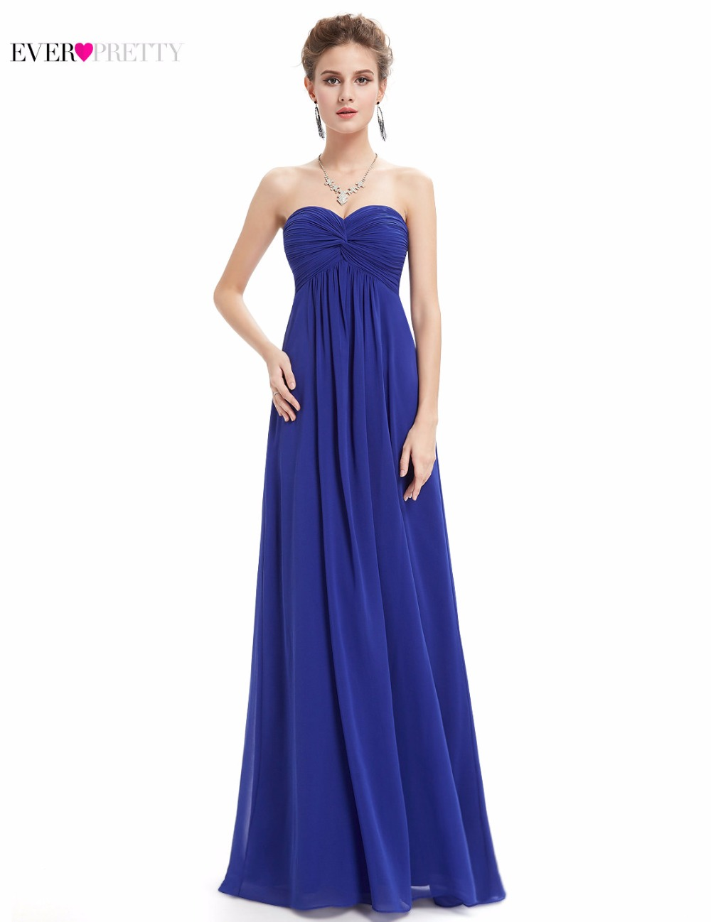 Bridesmaid Dresses Sapphire Blue Promotion-Shop for Promotional ...