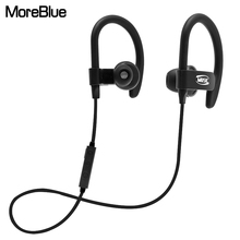 MoreBlue M92 Bluetooth Earphones Wireless Sport Headphones Super Bass Headset Stereo Earbuds Running Handsfree With Mic(China)