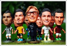 "5PCS/LOT FOOTBALL 2.5"" Figurine (Mixed Order) Doll Toy Figure Shipping Free"