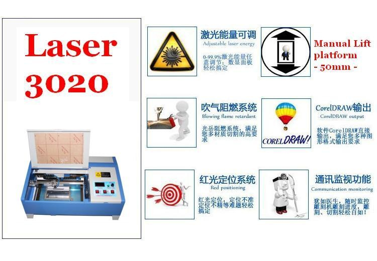 laser engraving machine 3020 function picture