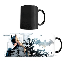 Drop shipping the dark knight batman Mug change color magic mug Color Changing Mugs coffee tea cup best gift for your friends(China)