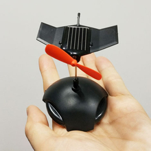 Car Airplane Black Hawk Solar Car Ornament Innovative Solar Aircraft