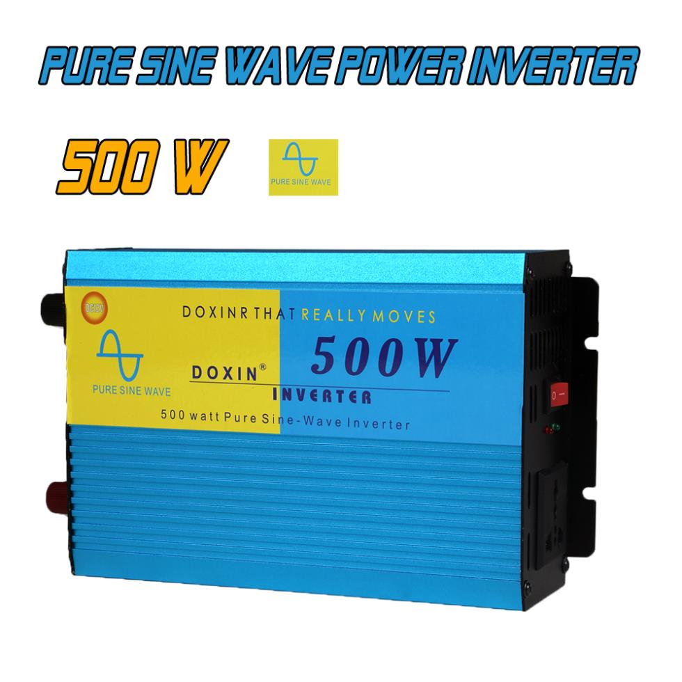 500W DC12V/AC220V Car Styling Inversor Pure Sine Wave Power Inverter Supply Wechselrichter Inversor Veicular<br><br>Aliexpress