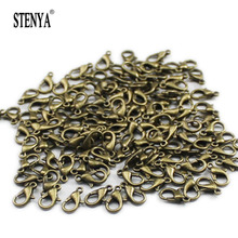 STENYA Lobster Claw Clasps Hook Loop Jewelry Making Trigger Connector Beads Bearl Fastener Metal Wire Alambre Alfilere Kit(China)