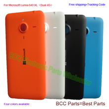 For Microsoft Nokia Lumia 640 XL Original Back Cover Battery Door Housing Case with Buttons 5.7 inch,White Orange black blue