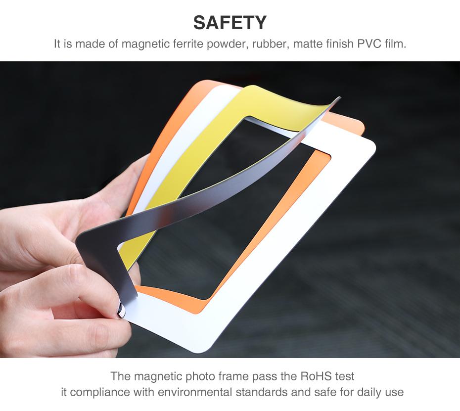 Flexible Multicolor Square Frame Picture Frames-06