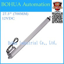 Hot  !!most competitive12V micro linear actuator 700mm stroke electric linear actuator, thrust 1500N, mini linear actuator