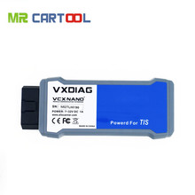 New Arrival VXDIAG VCX NANO for TOYOTA TIS Techstream V10.10.018 Compatible with SAE J2534 Wifi Version