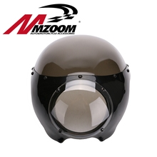 "new arrived motorcycle Black 5 3/4"" Cafe Racer Headlight Fairing For Harley Sportster 883 1200 Dyna"