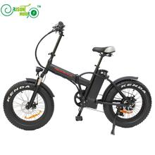 RisunMotor Mini Foldable Ebike 36V 500W 8Fun/Bafang Hub Motor 20 Inch Fat Tire Electric Bicycle With 36V 15AH Lithium Battery(China)